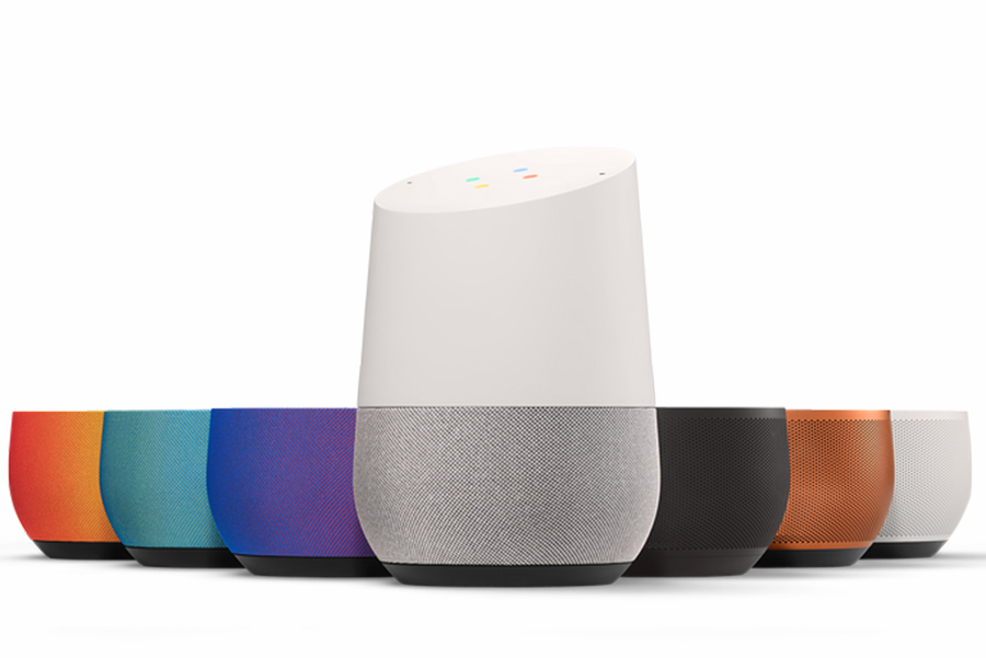 google home set di colori disponibili